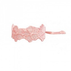 Bracelet en dentelle Louis motif Fleuris