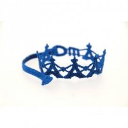 Bracelet en dentelle motif Tour Eiffel