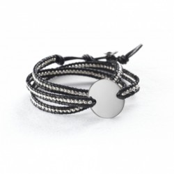 Bracelet Indian Noir - Small