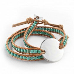 Bracelet Indian Turquoise - Large