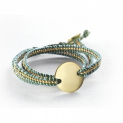 Bracelet Indian Vert - Small