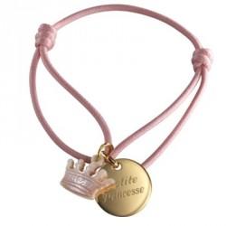 Bracelet Kids Couronne- plaqué or