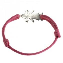 Bracelet mini bambin Fille personnalisable- argent