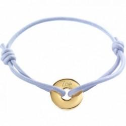 Bracelet Mini Jeton - Or Jaune