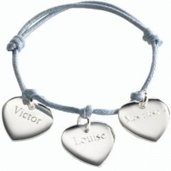 Bracelet Petits Coeurs- argent