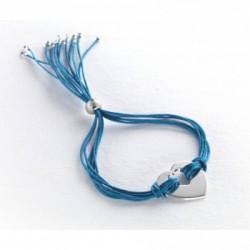 Bracelet Rainbow Coeur - Argent