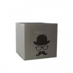 Casier de rangement chapeau lumettes et moustache personnalisable