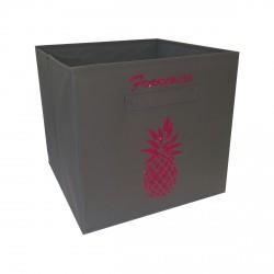Casier de rangement ananas personnalisable