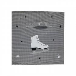 Casier de rangement patins à glace personnalisable