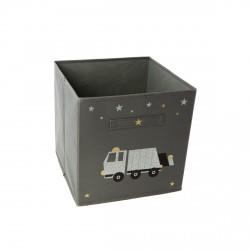 Casier de rangement camion poubelle personnalisable