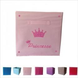 Casier de rangement princesse personnalisable