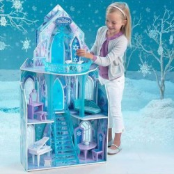 Maison De Poupées Ice Castle Disney® La Reine Des Neiges