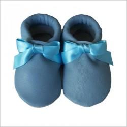 Chaussons Noeud Bleu