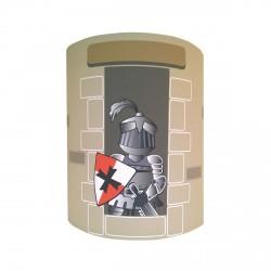 Applique le chevalier à la tour personnalisable