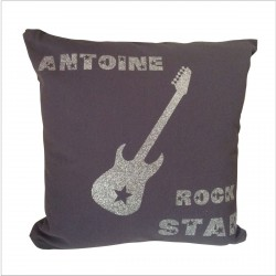 Coussin guitare Rock Star