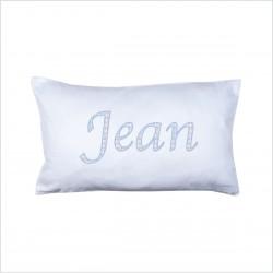 Coussin prénom quadrillé Petit Jean