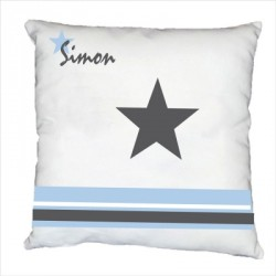 Coussin étoile Simon personnalisable
