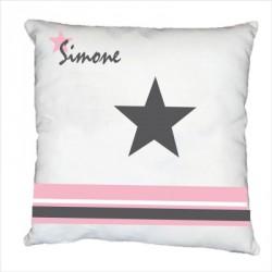 Coussin étoile simone personnalisable