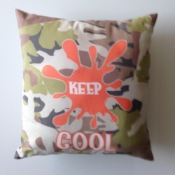 Coussin camouflage Keep Cool
