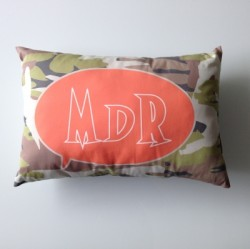 Coussin camouflage MDR
