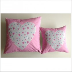 Coussin Duo Coeur so pretty