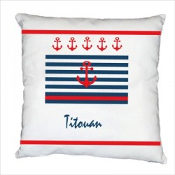 Coussin marin titouan personnalisable