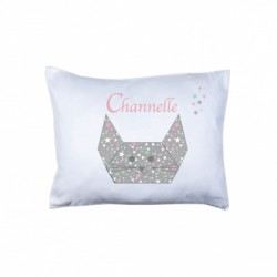 Coussin origami souris