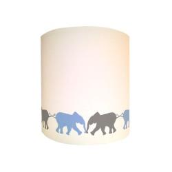 Applique les éléphants en frise personnalisable