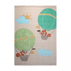 Tapis enfant High Sky beige