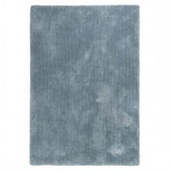 Tapis uni design Relaxx bleu gris