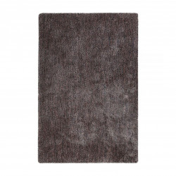 Tapis uni design Relaxx marron rose