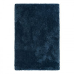Tapis uni design Relaxx bleu foncé