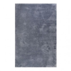 Tapis uni design Relaxx gris ciment