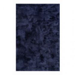 Tapis uni design Relaxx bleu pétrole