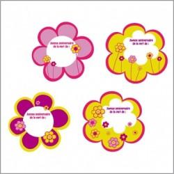 Etiquettes Fleurs