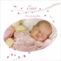 fairep naiss petite fleur lili pouce boutique deco With tapis chambre bébé avec faire part naissance fleur