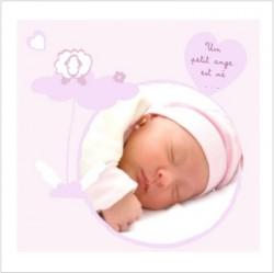 Faire part de naissance photo Allée des beaux rêves Victoire