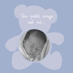 Faire part de naissance photo Baptiste