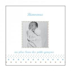 Faire part de naissance photo Edouard