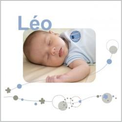 Faire part de naissance photo Léo