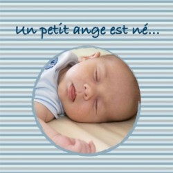 Faire part de naissance photo Max