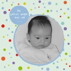 Faire part de naissance photo Paul