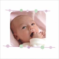 Faire part de naissance photo Surya