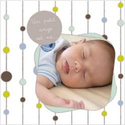 Faire part de naissance photo Victor