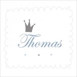 Faire part de naissance Prince Thomas