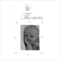 Faire part de naissance Prince Thomas photo