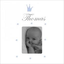 Faire part de naissance Prince Thomas photo