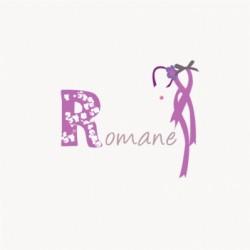 Faire part de naissance Romane
