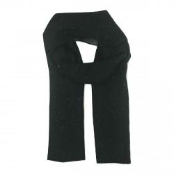 Foulard noir pailleté