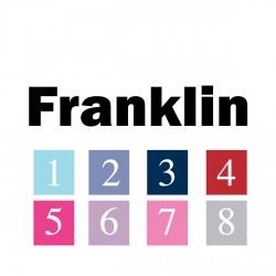 Sticker prénom police Franklin
